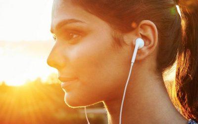 享受音樂,但請留心音量